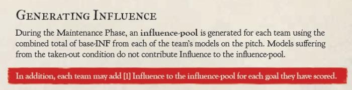 Goal Influence